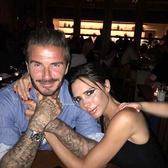 David Beckham táo bạo hôn lên ngực vợ trên du thuyền triệu đô - hình ảnh 10