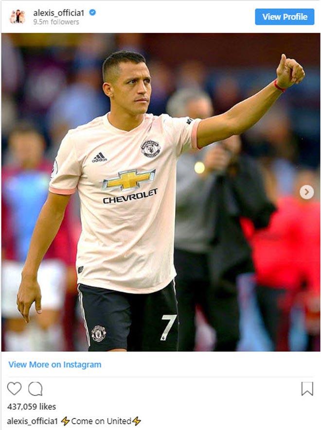 Bị nghi bực bội với Mourinho, Sanchez lên tiếng khiến tất cả bất ngờ - 2