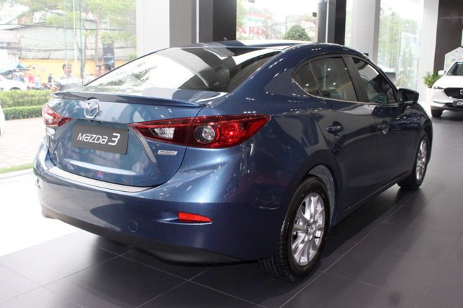 Giá xe Mazda 3 cập nhật tháng 10/2018: Phiên bản Mazda 3 1.5L ổn định ở mức 659 triệu đồng - 4