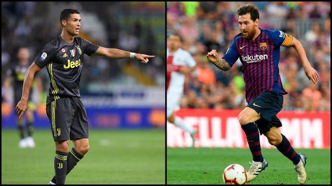 """Messi nói Real """"suy yếu"""", sợ Ronaldo giúp Juventus vô địch cúp C1 - 2"""