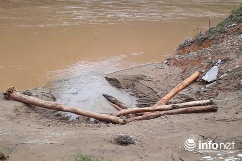 Thanh Hóa: Thót tim trước cảnh người dân đổ xô đi vớt củi giữa dòng nước dữ - hình ảnh 4