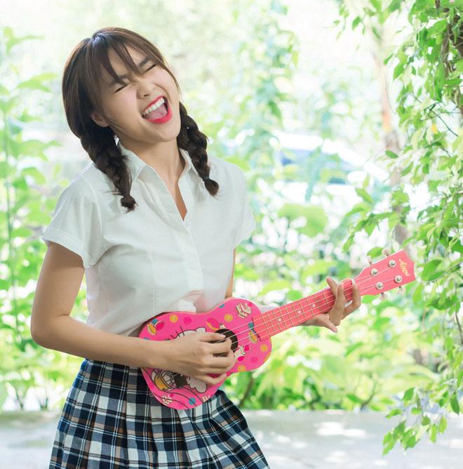 Ninh Dương Lan Ngọc sexy táo bạo trong MV chuyển hướng làm ca sĩ - hình ảnh 7
