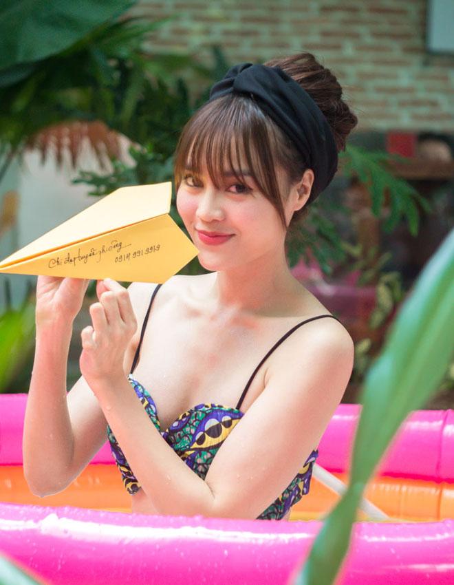 Ninh Dương Lan Ngọc sexy táo bạo trong MV chuyển hướng làm ca sĩ - hình ảnh 4