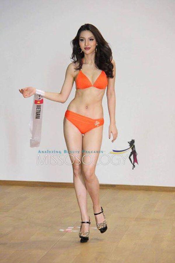 Cô gái chân dài nhất Việt Nam thi Siêu mẫu quốc tế - hình ảnh 5
