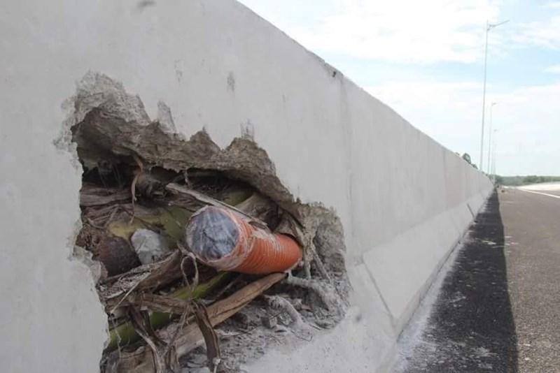 """Chuyên gia nói gì về """"bê tông cốt chuối"""" trên cao tốc Đà Nẵng - Quảng Ngãi? - 1"""