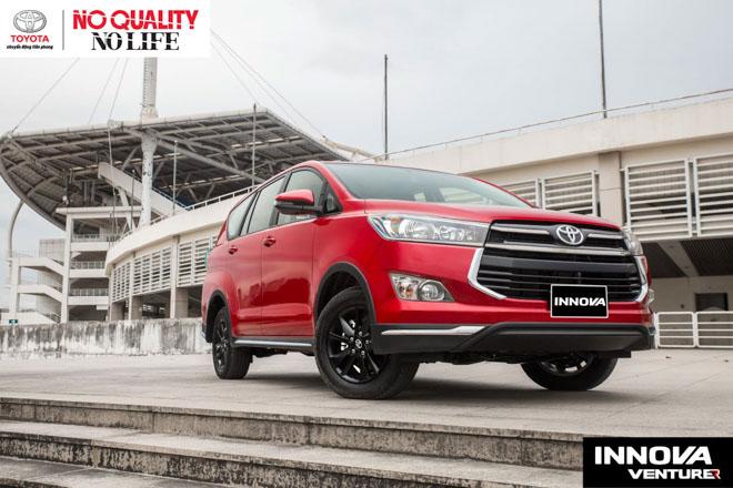 Giá xe Toyota Innova cập nhật tháng 10/2018: Phiên bản đặc biệt Venturer giá từ 855 triệu đồng - 1
