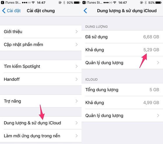 5 cách tăng dung lượng lưu trữ trên iPhone - 5
