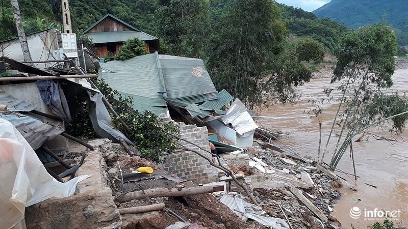 Thanh Hóa: Lũ dữ tàn phá tan hoang bên dòng sông Mã - hình ảnh 1