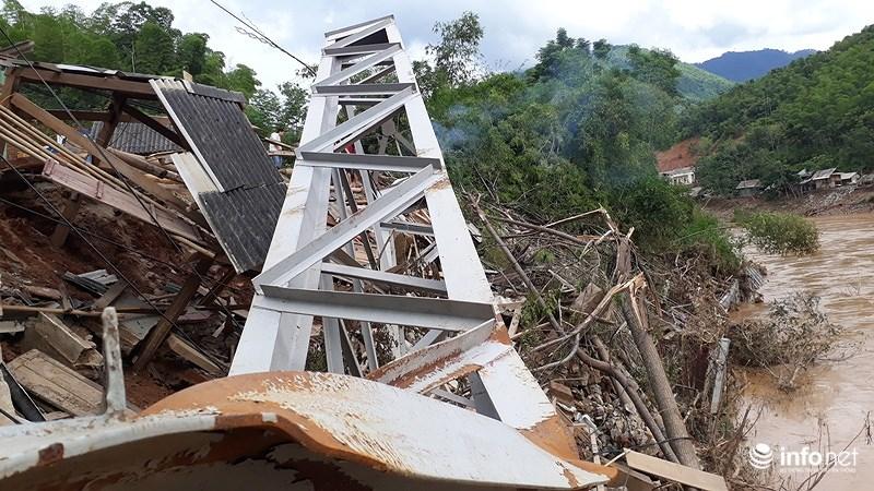 Thanh Hóa: Lũ dữ tàn phá tan hoang bên dòng sông Mã - hình ảnh 11