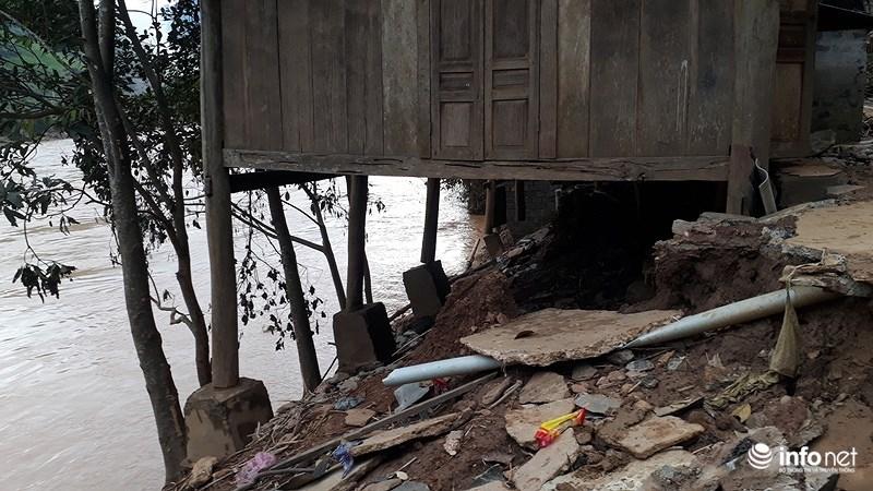 Thanh Hóa: Lũ dữ tàn phá tan hoang bên dòng sông Mã - hình ảnh 4