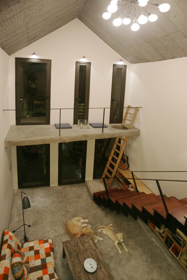 Dù diện tích khiêm tốn nhưng không gian căn nhà lại thoáng đãng và rất tiện cho người sử dụng.