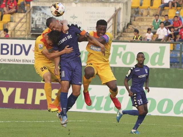 Lịch thi đấu giải bóng đá vô địch quốc gia V-League 2019