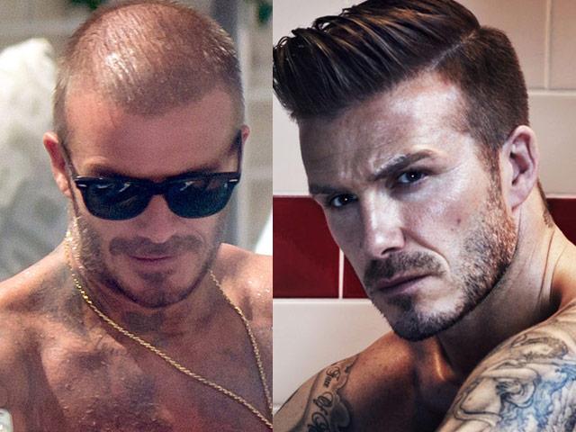 Tư vấn làm đẹp - Phát hiện sự thật về mái tóc lơ thơ bị chê bai của David Beckham