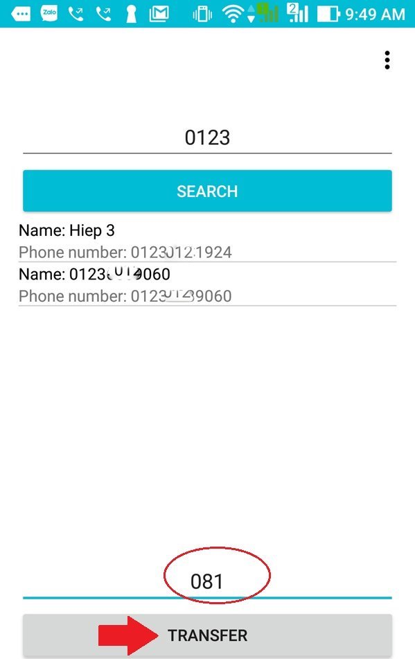 Hướng dẫn đổi đầu số 11 số về 10 số trong danh bạ điện thoại - 5