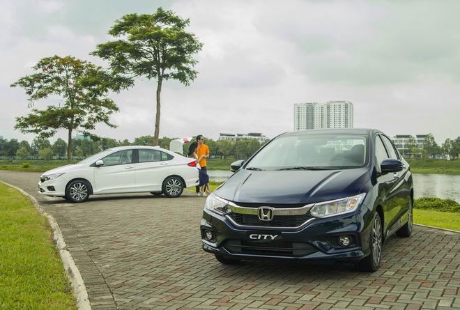 Giá xe Honda cập nhật tháng 9/2018