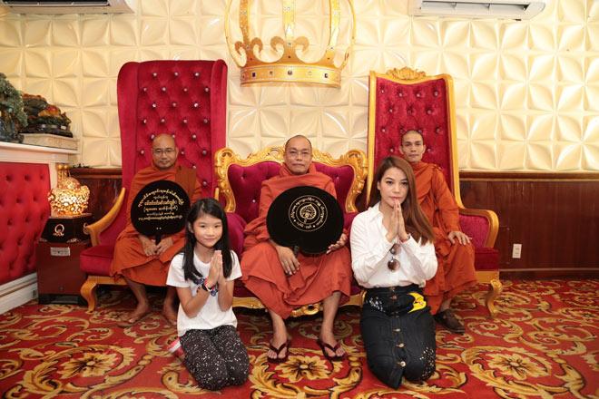 Kingdom: Doanh nghiệp Việt Nam hiếm hoi được ban tặng xá lợi Phật từ vị Tam Tạng thứ 7 của Myanmar - 3