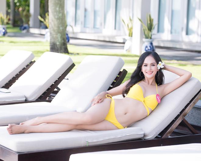Top 43 Hoa hậu VN khoe dáng với áo tắm trước chung kết - 3