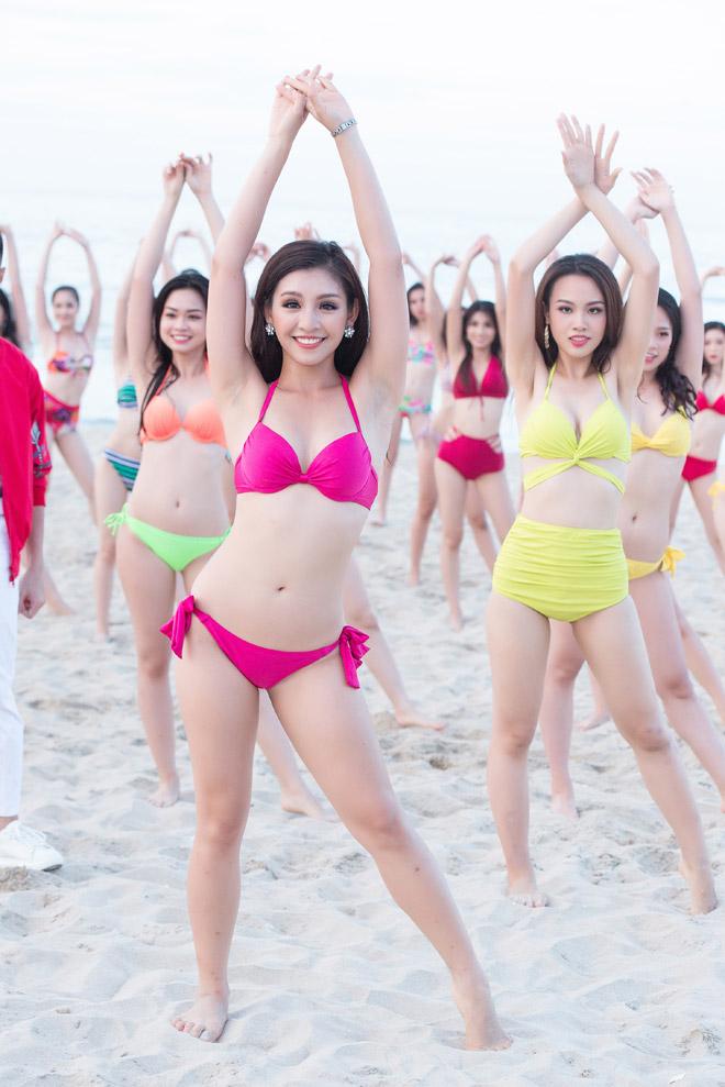 Top 43 Hoa hậu VN khoe dáng với áo tắm trước chung kết - 7
