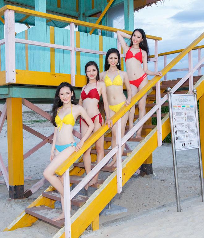 Top 43 Hoa hậu VN khoe dáng với áo tắm trước chung kết - 14