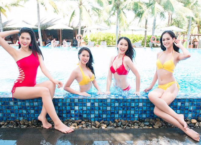 Top 43 Hoa hậu VN khoe dáng với áo tắm trước chung kết - 15