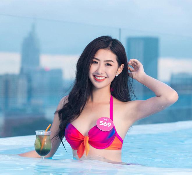 Top 43 Hoa hậu VN khoe dáng với áo tắm trước chung kết - 12