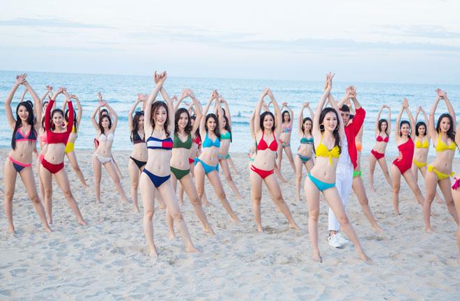 Top 43 Hoa hậu VN khoe dáng với áo tắm trước chung kết - 16