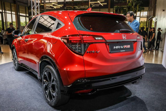 Honda HR-V phiên bản thể thao RS chính thức ra mắt tại Malaysia - 3