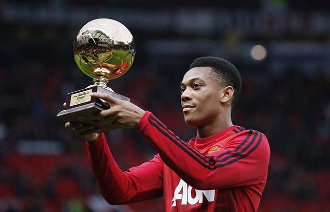 """3 năm Martial ra mắt MU: Từ """"Cậu bé vàng"""" đến kẻ bị Mourinho ruồng bỏ - 3"""