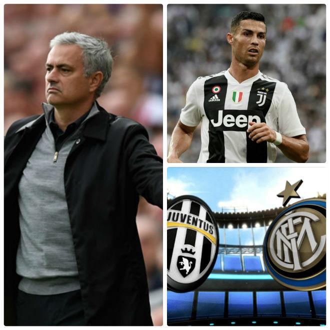 "Mourinho mưu cao: ""Phá"" MU vì Zidane, về Italia đoàn tụ Ronaldo - 2"