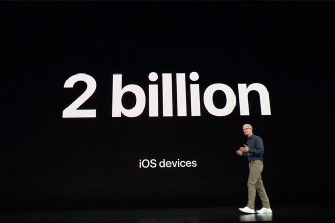 Đã có 2 tỷ thiết bị iOS được bán ra trên toàn cầu - 1