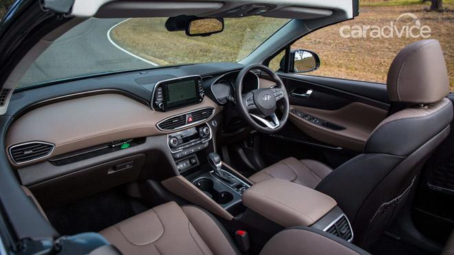 Hyundai SantaFe 2019 mui trần lộ ảnh chạy thử tại Úc - 5