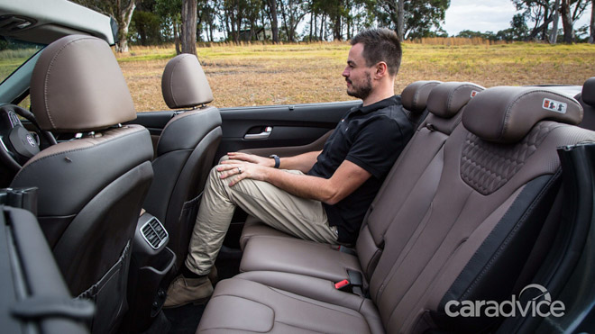 Hyundai SantaFe 2019 mui trần lộ ảnh chạy thử tại Úc - 8