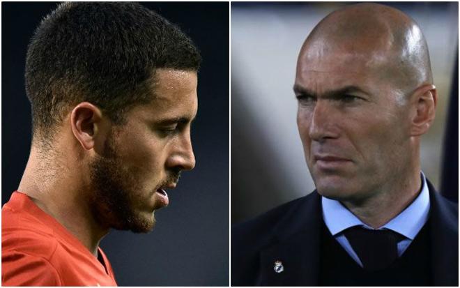 MU, PSG, Juventus giành giật Zidane: Nút thắt Hazard - Ronaldo - 1