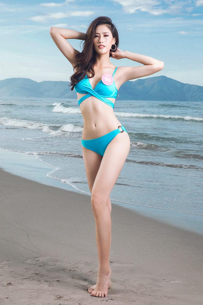 Top 43 Hoa hậu Việt Nam khoe dáng đẹp như búp bê với bikini - 7