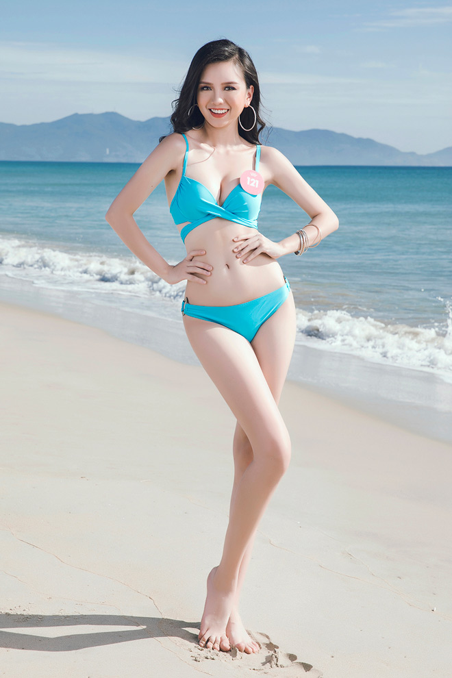 Top 43 Hoa hậu Việt Nam khoe dáng đẹp như búp bê với bikini - 12