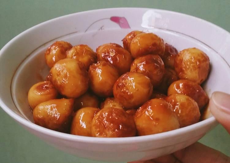 Làm trứng cút rim nước dừa tươi lạ miệng, hút cơm vèo vèo - 8