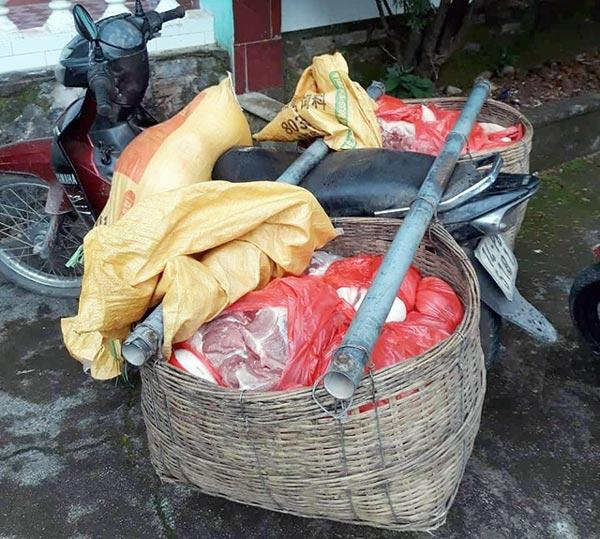 """Sát ổ dịch Trung Quốc, thịt lợn """"xách tay"""" vẫn tuồn qua biên giới - 2"""