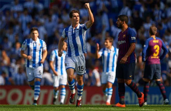 Real Sociedad - Barcelona: Sững sờ khởi đầu, ngược dòng 3 phút - 1
