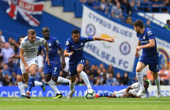 Chelsea - Cardiff: Siêu sao tỏa sáng, chiếm lĩnh ngôi đầu - 1