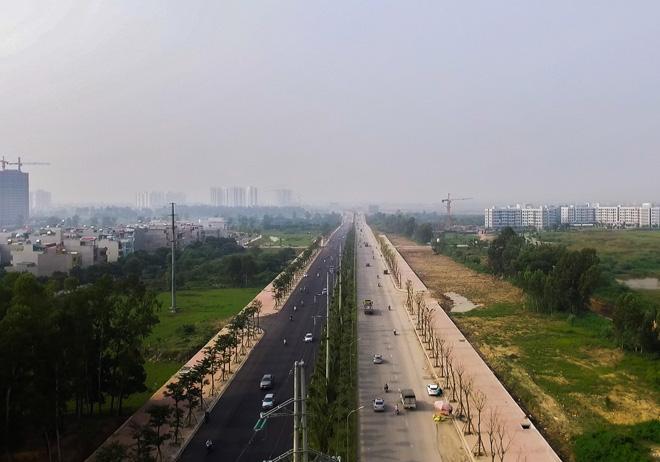 Con đường 5.000 tỷ ở Hà Nội, sau 10 năm mới hoàn thiện 20km - 1