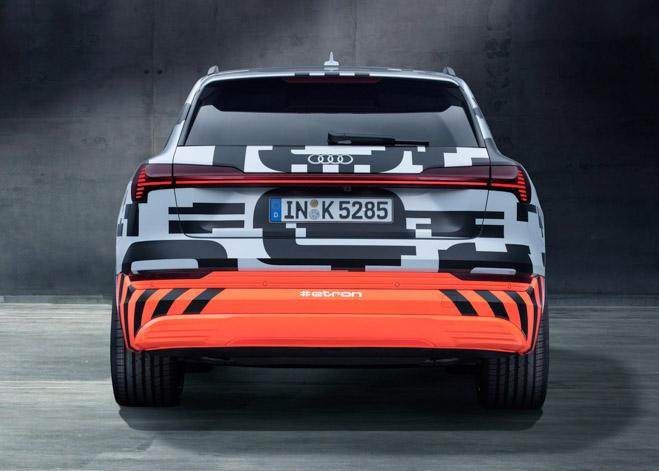 Audi sắp ra mắt xe điện E-Tron, cạnh tranh với EQC của Mercedes-Benz - 6