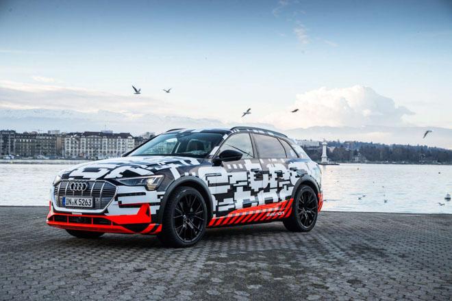 Audi sắp ra mắt xe điện E-Tron, cạnh tranh với EQC của Mercedes-Benz - 1