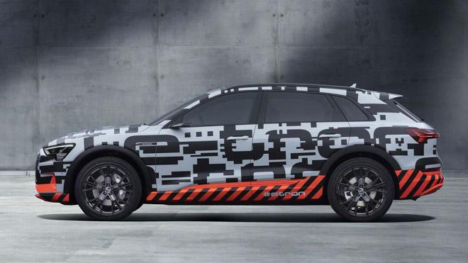 Audi sắp ra mắt xe điện E-Tron, cạnh tranh với EQC của Mercedes-Benz - 2