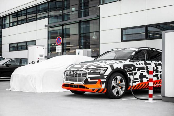 Audi sắp ra mắt xe điện E-Tron, cạnh tranh với EQC của Mercedes-Benz - 3