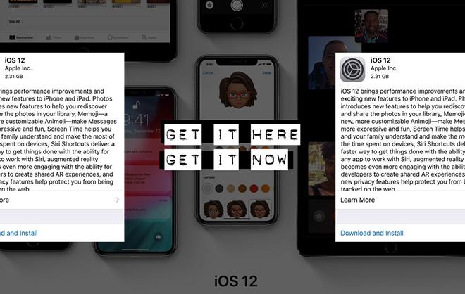 Một số thông tin quý khách sẽ bỏ lỡ giả dụ ko cập nhật lên iOS 12
