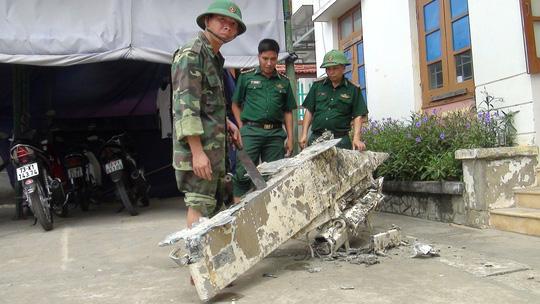 Phát hiện vật thể lạ nghi là của máy bay bị rơi xuống biển Quảng Bình - 1