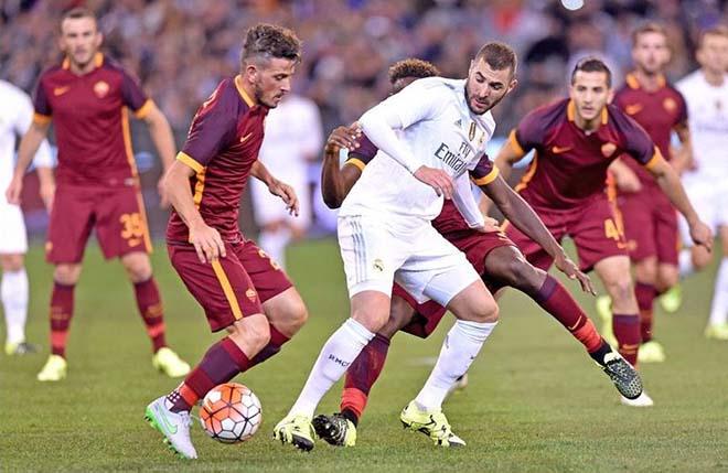 Real Madrid - Roma: Tưng bừng mở hội quyết giữ ngai vàng - 1