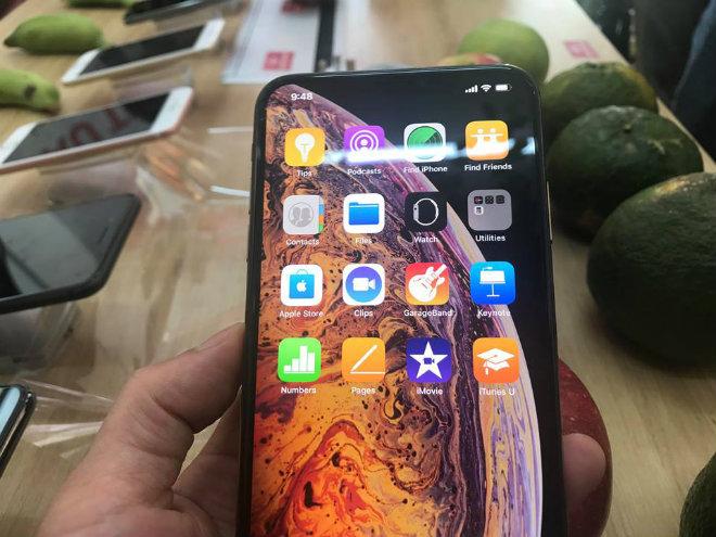NÓNG: iPhone Xs Max Gold 256GB vừa về Hà Nội, giá 45,5 triệu đồng - 2