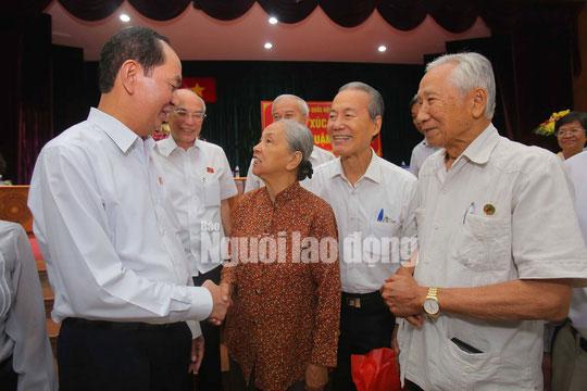 Những bức ảnh quý về Chủ tịch nước Trần Đại Quang - 12