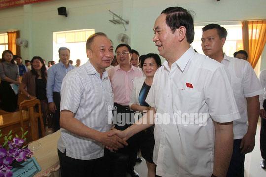 Những bức ảnh quý về Chủ tịch nước Trần Đại Quang - 15